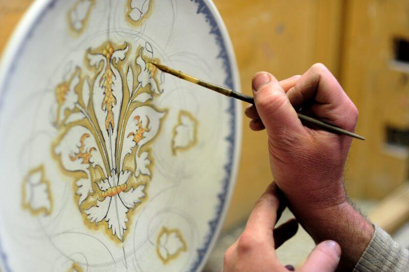 antique glassware repair